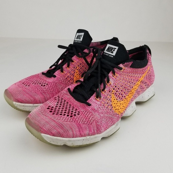 100% authentic 80f6c 3b049 NIKE Flyknit Zoom Agility Running Shoes Size 8. M 5b8b1f81c9bf5069af1ce915